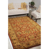 JA29 Red-Traditional-Area Rugs Weaver