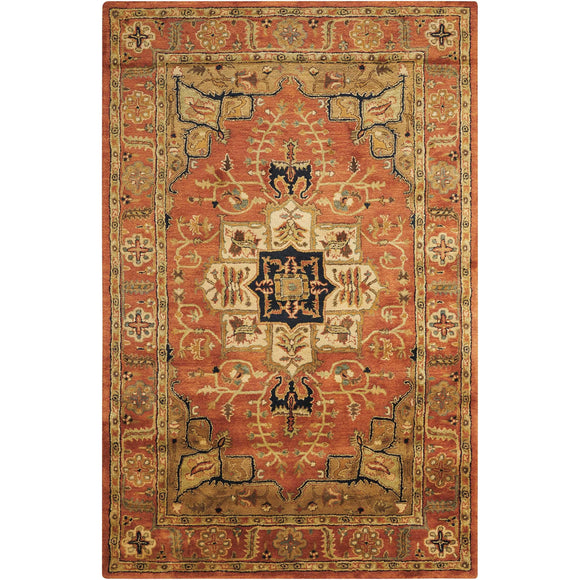 JA33 Brown-Traditional-Area Rugs Weaver