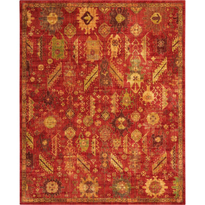 JEL04 Red-Transitional-Area Rugs Weaver