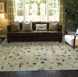 JL36 Green-Transitional-Area Rugs Weaver