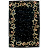 JL46 Black-Transitional-Area Rugs Weaver