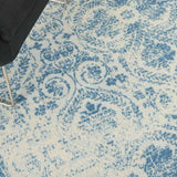 JUB05 Blue-Vintage-Area Rugs Weaver