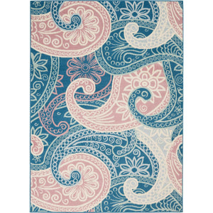 JUB13 Blue-Modern-Area Rugs Weaver