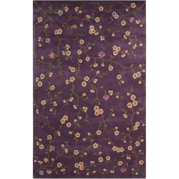 JL27 Purple-Transitional-Area Rugs Weaver