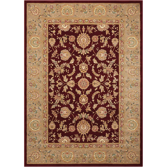 ANT01 Red-Traditional-Area Rugs Weaver