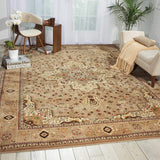 ANT09 Beige-Traditional-Area Rugs Weaver
