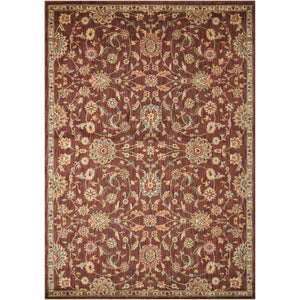 BAB05 Brown-Traditional-Area Rugs Weaver