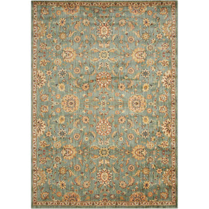 BAB05 Teal-Traditional-Area Rugs Weaver