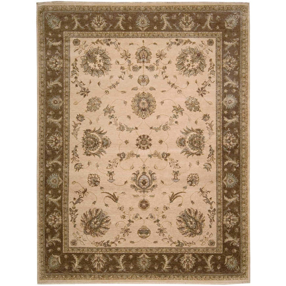 LD02 Beige-Traditional-Area Rugs Weaver