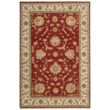 LD02 Red-Traditional-Area Rugs Weaver
