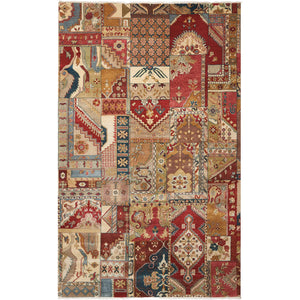 LD05 Multi-Patchwork-Area Rugs Weaver