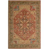 LI01 Red-Traditional-Area Rugs Weaver