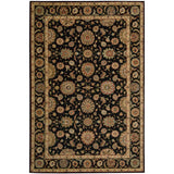 LI05 Black-Traditional-Area Rugs Weaver