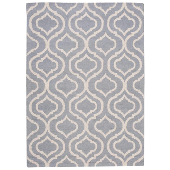 LIN15 Blue-Modern-Area Rugs Weaver