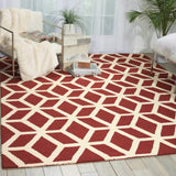 LIN01 Brown-Modern-Area Rugs Weaver