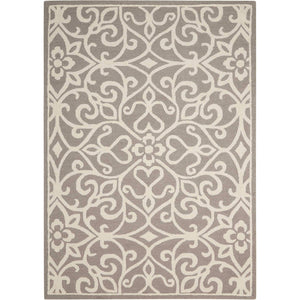 LIN19 Silver-Transitional-Area Rugs Weaver