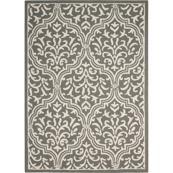 LIN20 Grey-Transitional-Area Rugs Weaver