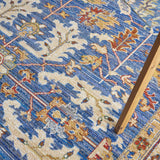 MST02 Blue-Vintage-Area Rugs Weaver