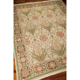 S144 Green-Traditional-Area Rugs Weaver