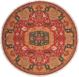 SK63 Red-Traditional-Area Rugs Weaver
