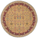SK92 Yellow-Traditional-Area Rugs Weaver