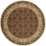 SK93 Brown-Traditional-Area Rugs Weaver