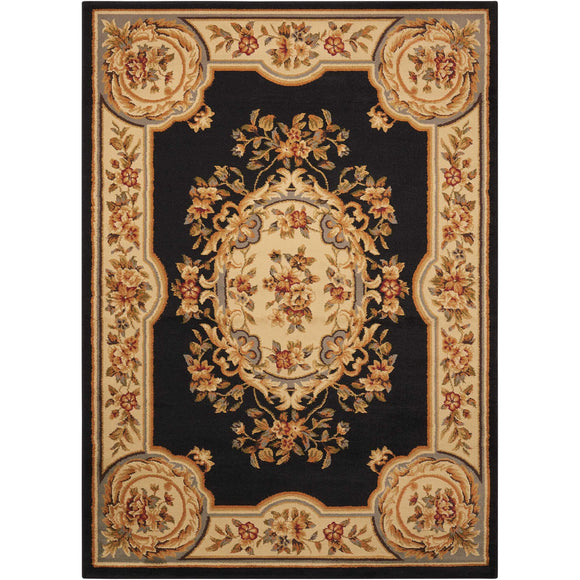 PAR37 Black-Traditional-Area Rugs Weaver