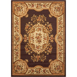 PAR37 Brown-Traditional-Area Rugs Weaver