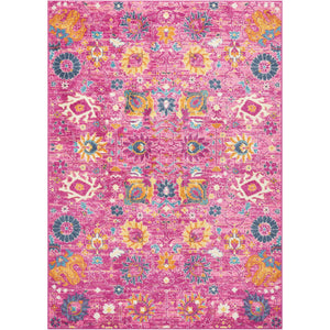 PSN01 Pink-Transitional-Area Rugs Weaver