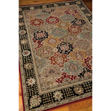 PC004 Black-Traditional-Area Rugs Weaver
