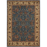 BD05 Blue-Traditional-Area Rugs Weaver