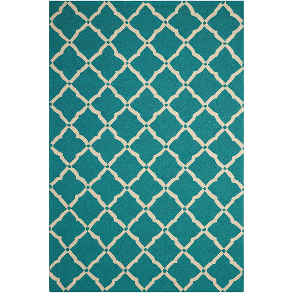 POR01 Aqua-Outdoor-Area Rugs Weaver