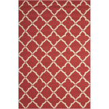 POR01 Red-Outdoor-Area Rugs Weaver