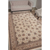 PPL03 Cream-Traditional-Area Rugs Weaver