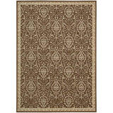 RI02 Brown-Traditional-Area Rugs Weaver