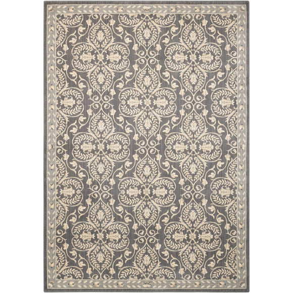 RI01 Grey-Traditional-Area Rugs Weaver