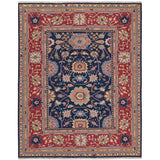 S165 Navy-Traditional-Area Rugs Weaver
