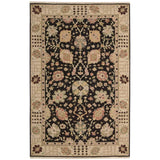 S169 Black-Traditional-Area Rugs Weaver