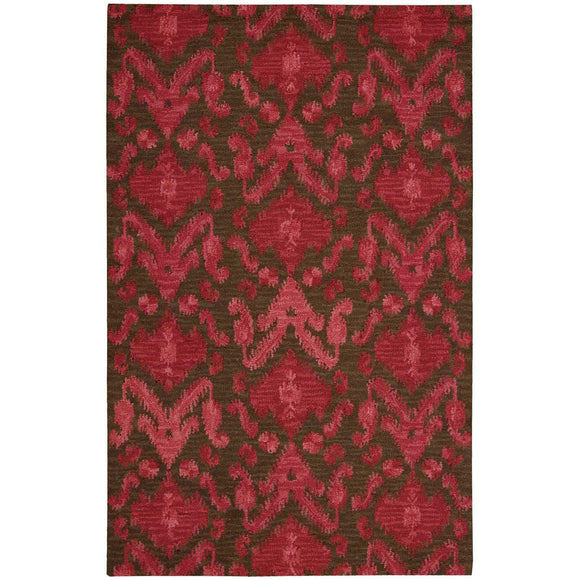 SIA01 Brown-Casual-Area Rugs Weaver