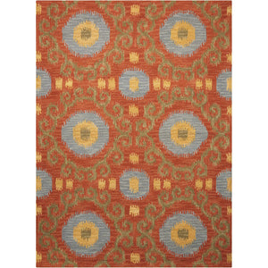SIA03 Red-Casual-Area Rugs Weaver