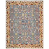 SK92 Blue-Traditional-Area Rugs Weaver