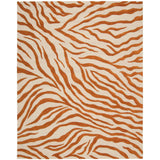 SKY05 Ivory-Animal Print-Area Rugs Weaver