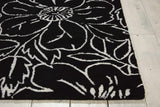 SKY04 Black-Transitional-Area Rugs Weaver