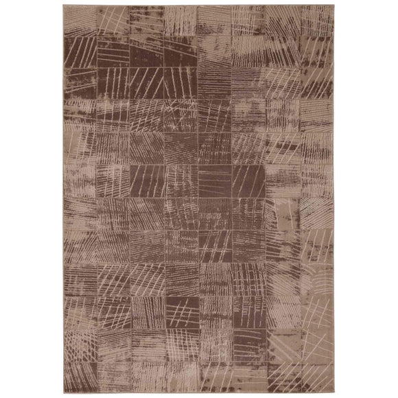 SOH06 Brown-Casual-Area Rugs Weaver