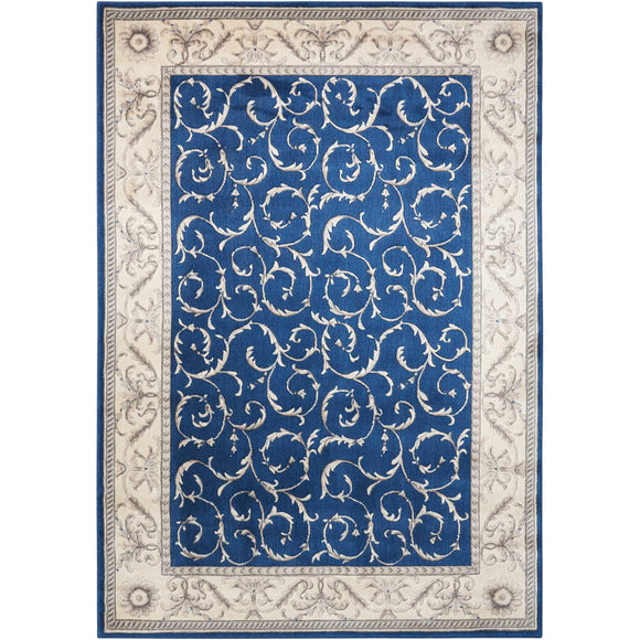 ST02 Navy-Traditional-Area Rugs Weaver