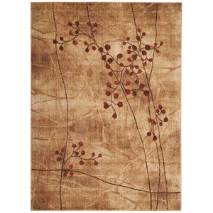 ST74 Beige-Casual-Area Rugs Weaver