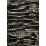 STU06 Black-Modern-Area Rugs Weaver