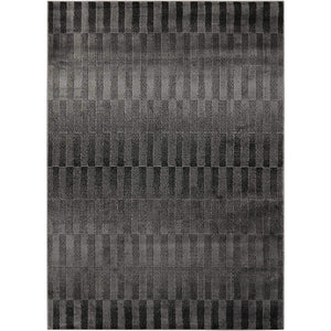 STU05 Black-Modern-Area Rugs Weaver