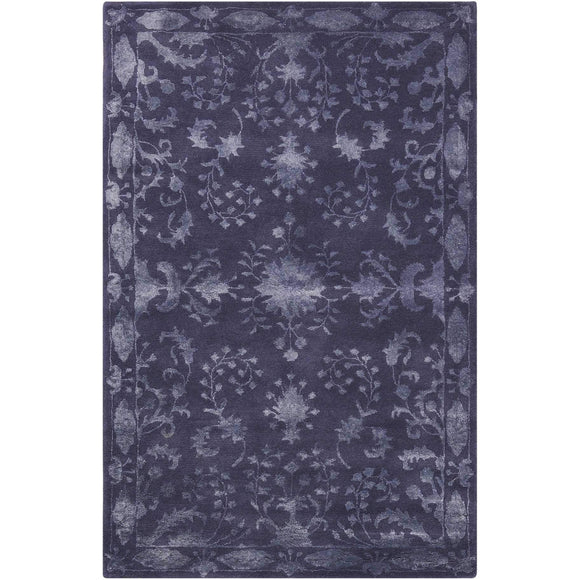 SYM11 Blue-Traditional-Area Rugs Weaver
