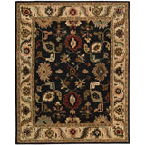 TA08 Black-Traditional-Area Rugs Weaver